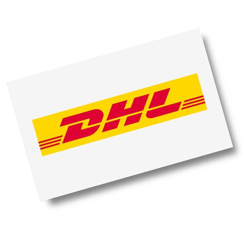 Logo unseres Versanddienstleisters DHL