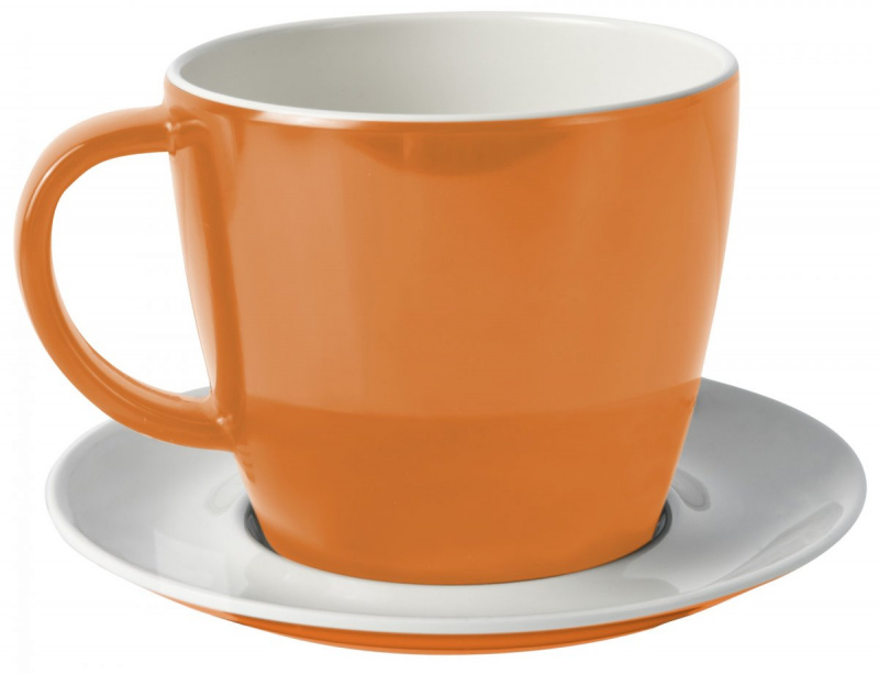 Spectrum AS Tasse & Untertasse orange