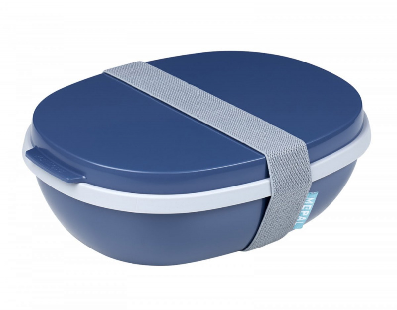 Lunchbox Ellipse Duo blau