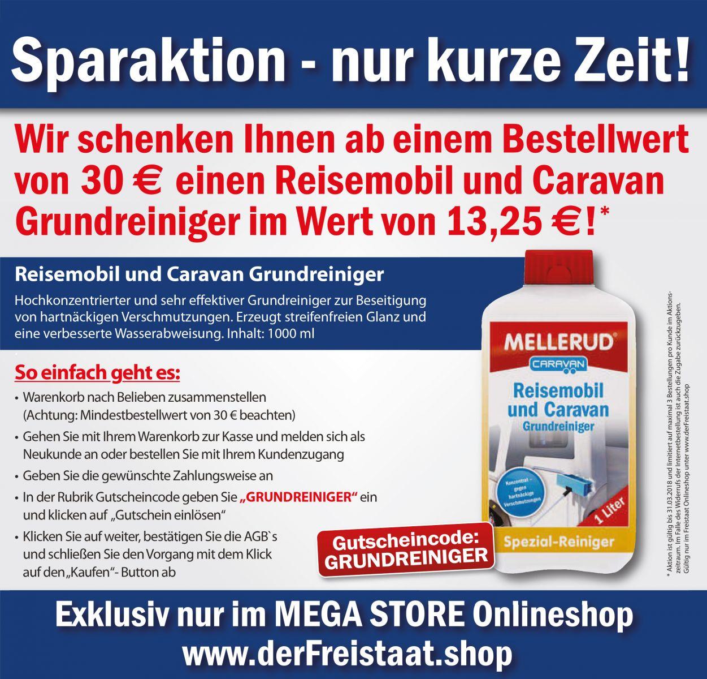 Grundreiniger Gratis Freistaat Mega Store Online